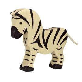 Houten zebra - groot