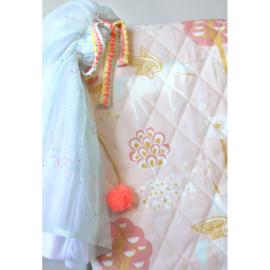 Majvillan Quilt deken True Unicorn Pink (130x180 cm)
