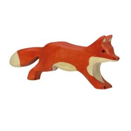 Houten lopende vos