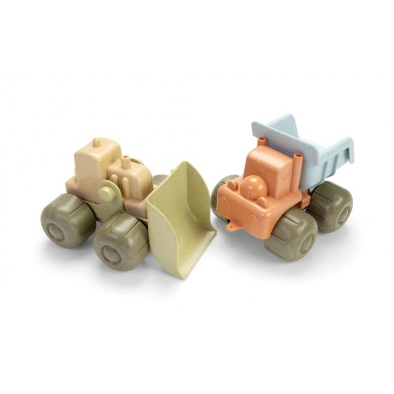 Tiny BIOplastic bouwvoertuigen (set van 2)