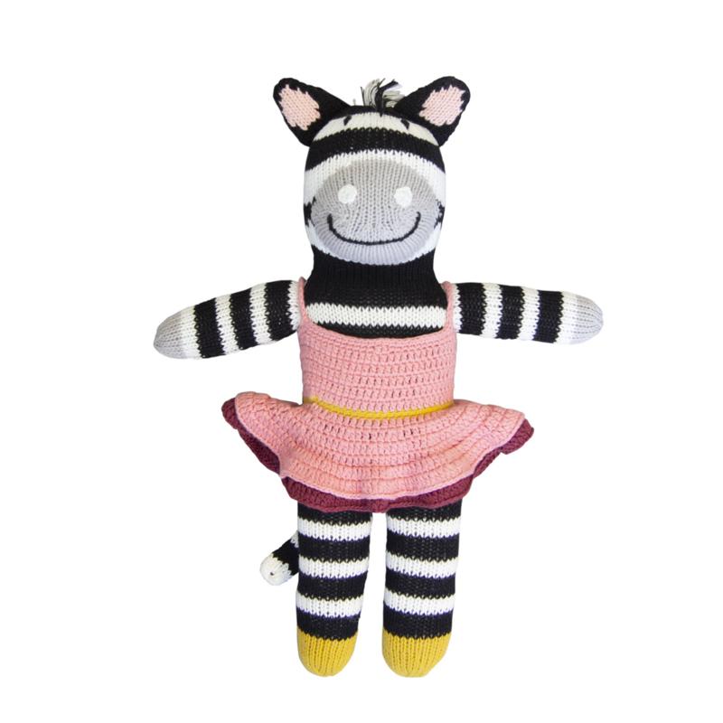 Global Affairs gebreide pop - Zebra Zena
