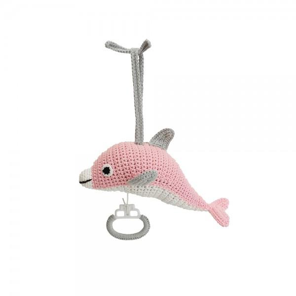 Muziekdoosje Dolfijn Dolphy - roze