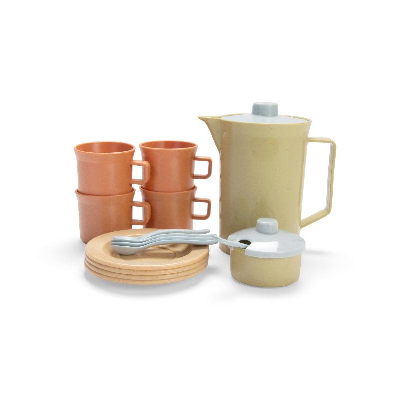 Tiny BIOplastic koffieset (17-delig)
