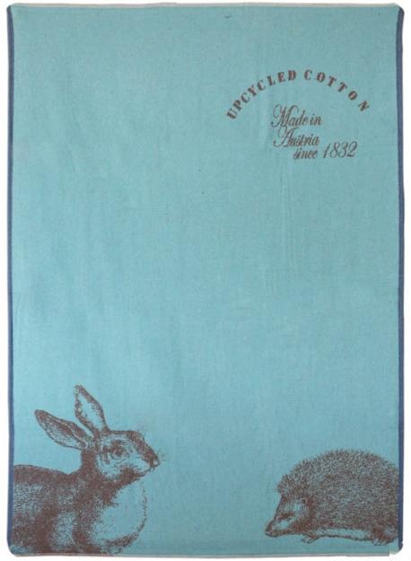 David Fussenegger - Ledikantdeken deken blauw (100x140cm)