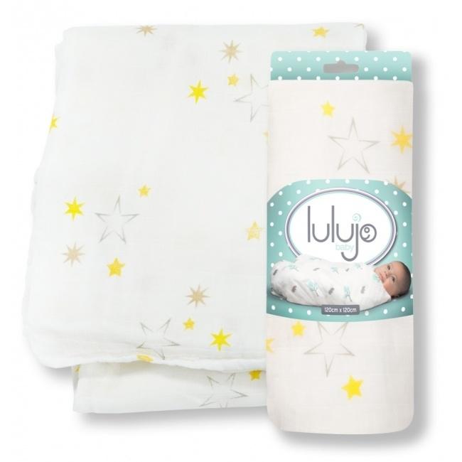 Lulujo Swaddle bamboo - Stars
