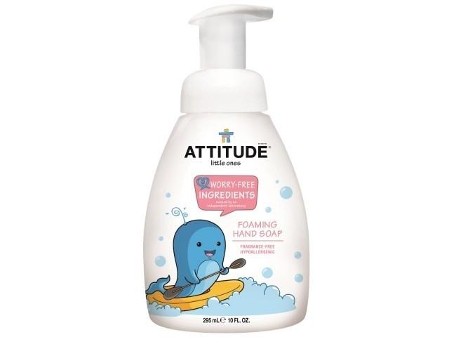 Attitude - Schuimende handzeep (geurvrij)