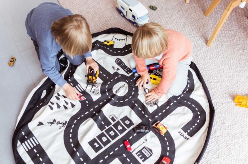 Play&Go speelkleed en opbergzak Roadmap