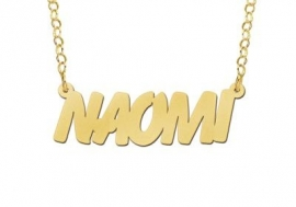 NAAMKETTING VERGULD NAMES4EVER NAOMI