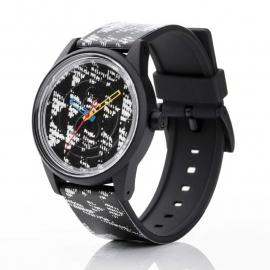 Q&Q horloge RP00J024 SmileSolar Zwart