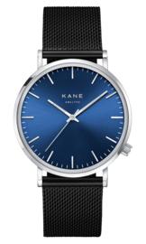 KANE Horloge BLUE ARCTIC BLACK MESH