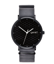 GMTRY WATCH - THE POLYGONE SERIES - BLACK