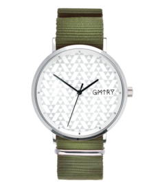 GMTRY WATCH - THE POLYGONE SERIES - WHITE