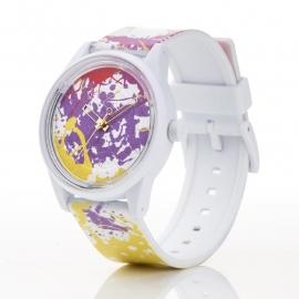 Q&Q horloge RP00J021 SmileSolar Wit