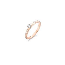 Blush Ring 1112RZI - Rose Goud met zirkonia
