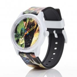 Q&Q horloge RP00J026 SmileSolar Zwart Wit