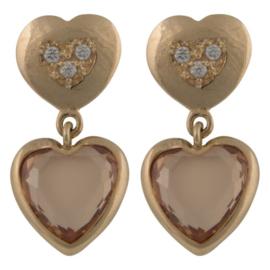 CATALEYA EARRINGS DOUBLE HEART