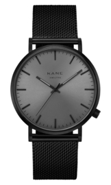 KANE Horloge BLACK OUT BLACK MESH
