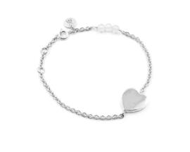 Van Mispelaar zilveren armband NILA HEART