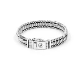 Van Mispelaar zilveren armband MUMBAI S