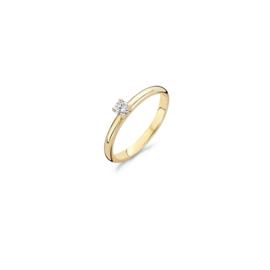 Blush Ring 1112YZI - Geel Goud met zirkonia