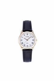Olympic Dames horloge classic double met leren bandje