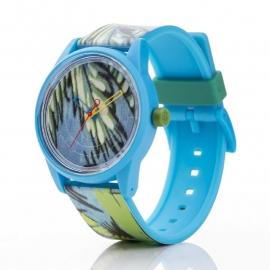Q&Q horloge RP00J027 SmileSolar Blauw