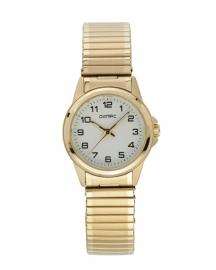 Olympic Dames horloge met rekbandje double