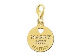 GOUDEN CHARM NAMES4EVER MARRY ME!