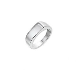 ZILVEREN HEREN RING