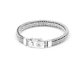 Van Mispelaar zilveren armband HONGKONG