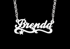 KINDER NAAMKETTING NAMES4EVER BRENDA