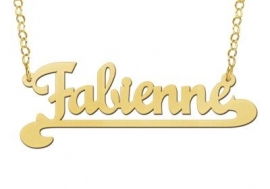NAAMKETTING VERGULD NAMES4EVER FABIENNE