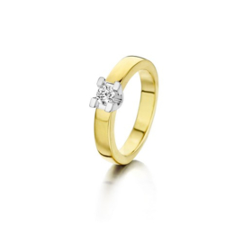 Voltarie Dames Ring met Diamant