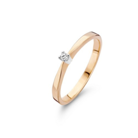 Classic Eternal Dames Ring met Diamant