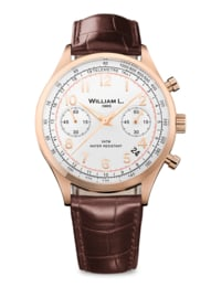 WILLIAM L. VINTAGE STYLE CHRONOGRAPH