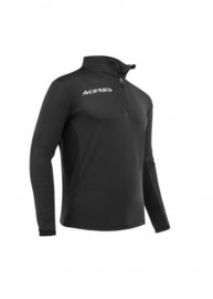 Training top Atlantis zipp zwart