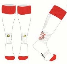 IJsselmeervogels Sokken rood-wit