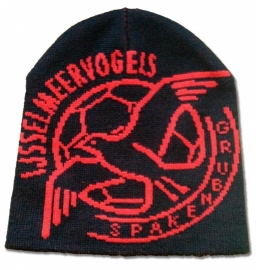 Wintermuts zwart met logo