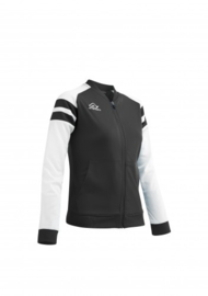 Kemari jacket zwart wit