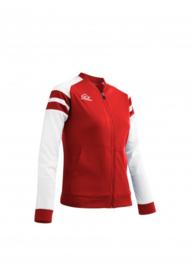 Kemari jacket rood wit