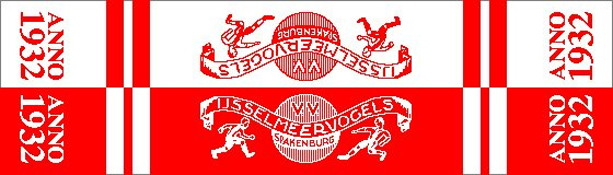 retro Supporterssjaal