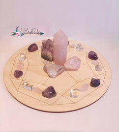 Crystal Grid | Dodecahedron | 20 cm