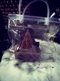 Grab a bag: Sheesham hout Piramide Wierook kegel