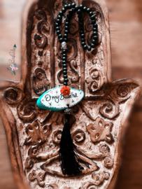 Achteruitkijkspiegel hanger 'O My Buddha'