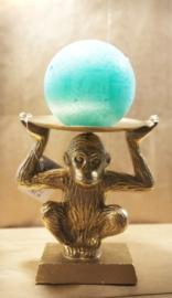 Monkey see kaarsenhouder