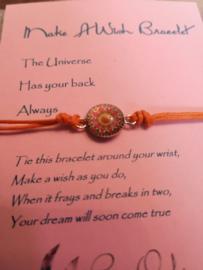 Verstelbare Make A Wish Bracelet Mandala | Universe
