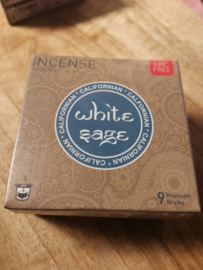 Aromafume Chakra 9 Wierookblokjes | White Sage