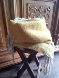 Superzachte winter sjaal Yellow