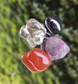 You Rock | Inner peace | robijn, carneool, citrien, pyriet | S