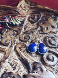 Mooie hanger van Lapis Lazuli gefacetteerd geslepen